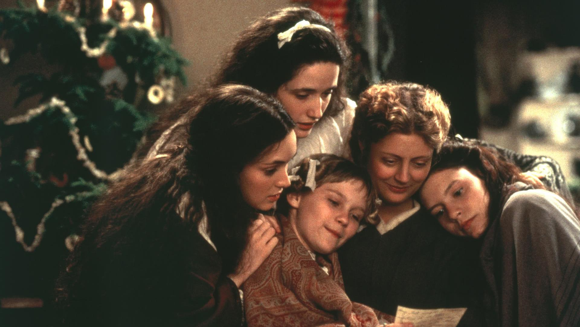 "fot. kadr z filmu ""Little Women"" 1994"